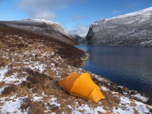 Camping Lochan na Doire-uaine - Before